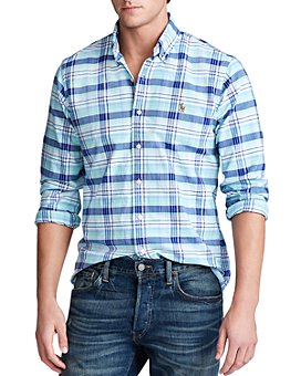 Polo Ralph Lauren - Classic Fit Plaid Button-Down Oxford Shirt