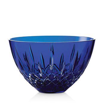 "Waterford - Lismore Blue Bowl, 8"""