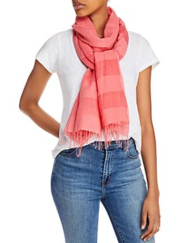 Eileen Fisher - Fringe-Trim Scarf