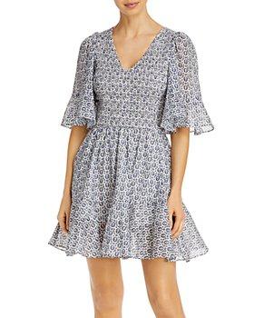 Rebecca Taylor - Petula Smocked Dress