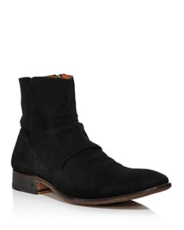 John Varvatos Collection - Men's Morrison Sharpei Suede Boots