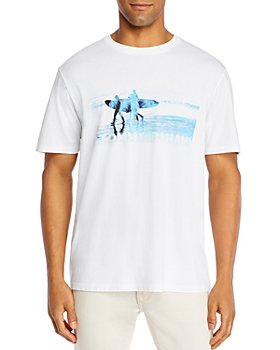 Tommy Bahama - Pipeline Beach Cotton Logo Graphic Tee
