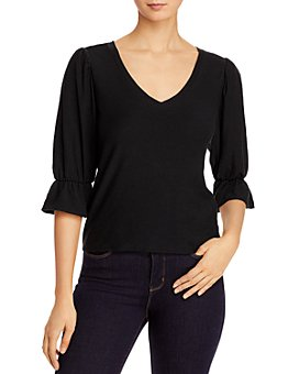 Nation LTD - Beau Romantic Bell-Sleeve Top