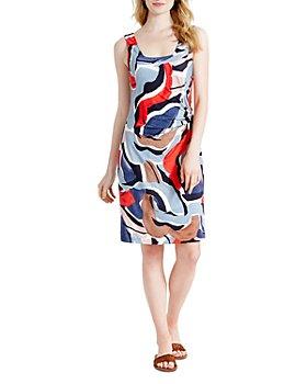 NIC and ZOE - Petite Americana Sleeveless Printed Dress