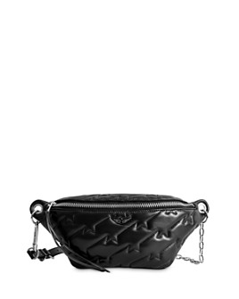Zadig & Voltaire - Edie ZV Quilted Leather Fanny Pack
