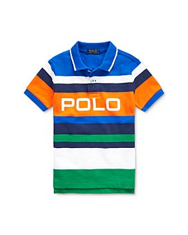 Ralph Lauren - Boys' Striped Cotton Mesh Polo Shirt - Little Kid