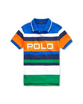 Ralph Lauren - Boys' Striped Cotton Mesh Polo Shirt - Little Kid