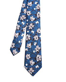 Ted Baker - Silk Illustrated Floral Tie