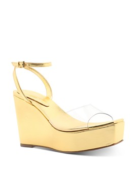 SCHUTZ - Women's Divany Platform Wedge Sandals