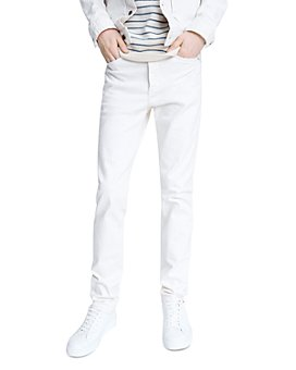 rag & bone - Fit 2 Cotton-Blend Slim Fit Jeans in Ecru