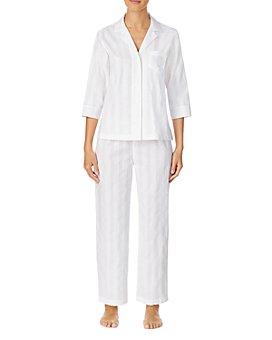 Ralph Lauren - Cotton Shadow-Striped Pajamas