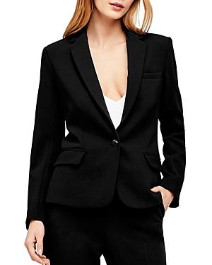 L'Agence Diana Skinny-Lapel Blazer