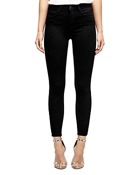 L'AGENCE - Margot High-Rise Skinny Jeans in Midnight