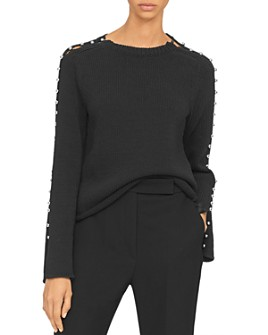 3.1 Phillip Lim - Boat Neck Studded Sweater