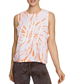 Betsey Johnson - Tie-Dyed Love Tank Top