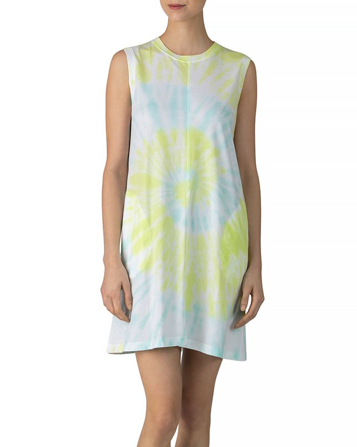 ATM Anthony Thomas Melillo - Cotton Tie-Dyed Tank Dress
