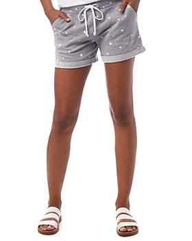 ALTERNATIVE - Star Print Shorts