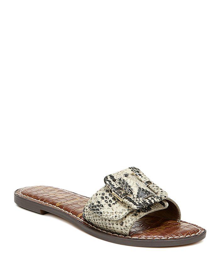 Sam Edelman - Women's Granada Buckle Slide Sandals