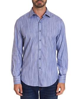 Robert Graham - Vandoorne Cotton Stretch Yarn-Dyed Stripe Classic Fit Button-Up Shirt