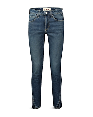 Twist Split-Cuff Jeans in Dark Vintage