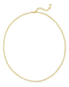 """Temple St. Clair - 18K Yellow Gold Oval Link Chain Necklace, 24"""""""