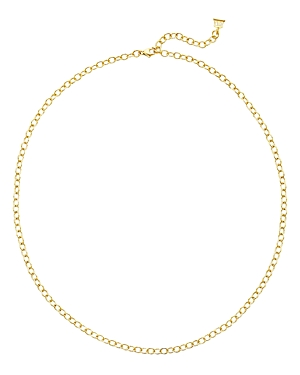 Temple St. Clair 18K Yellow Gold Oval Link Chain Necklace, 24