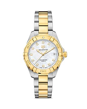 TAG Heuer - Aquaracer Diamond Bezel Watch, 32mm