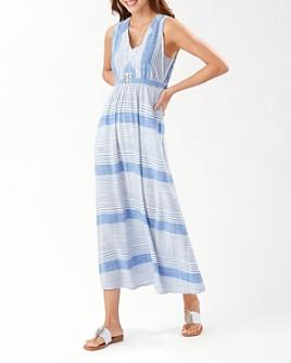 Tommy Bahama - Lucia Isle Striped Maxi Dress