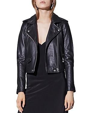 Iro Ashville Leather Motorcycle Jacket-Women