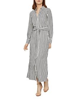 BCBGMAXAZRIA - Striped Shirt Dress
