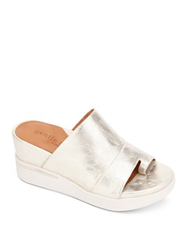 Gentle Souls by Kenneth Cole - Women's Gisele 65 Sporty Slide Wedge Sandals