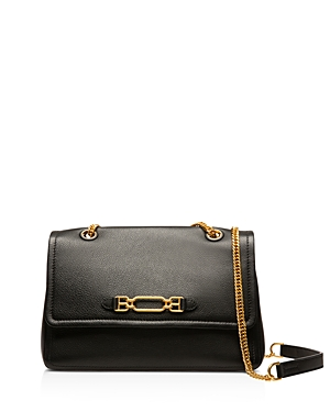 Bally Viva Small Leather Shoulder Bag-Handbags