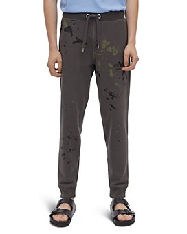 Helmut Lang - Paint Splatter Sweatpants