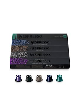Nespresso - OriginalLine Variety Pack Dark Roast Espresso Coffee Capsules, 50 Count