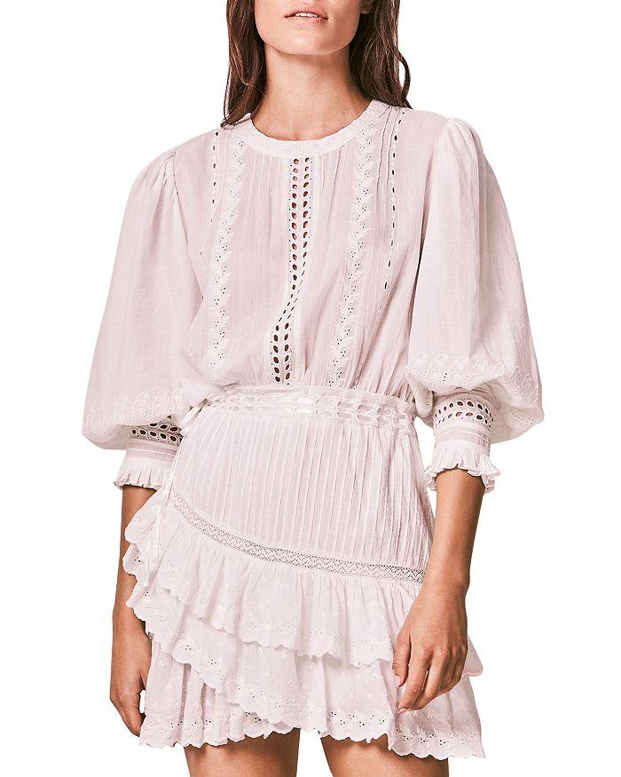 Loveshackfancy LOVESHACKFANCY LORELEI EYELET DRESS