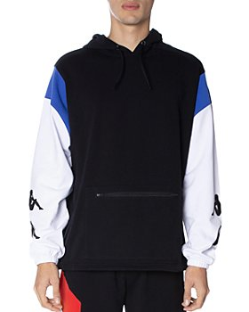 KAPPA - Authentic Race Cotton-Blend Color-Blocked Hoodie