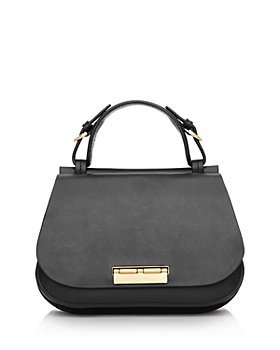 ZAC Zac Posen - Chantalle Leather Mini Saddle Satchel