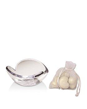 Nambé - Glass Heart Bowl Gift Set