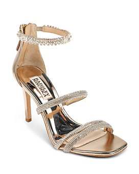 Badgley Mischka - Women's Zulema Strappy High Heel Sandals