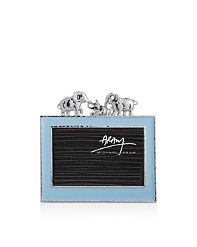 "Michael Aram - Elephants Frame, 4"" x 6"""