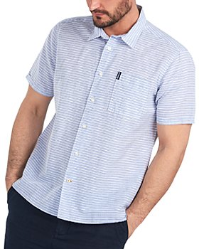 Barbour - Striped Short Sleeve Shirt
