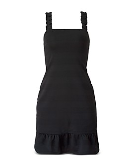 BCBGeneration - Knit Ruffled Mini Dress