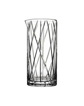 Orrefors - City Mixing Glass with Bar Spoon