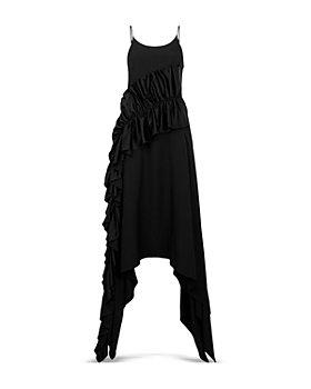 CHRISTOPHER KANE - Ruffled Handkerchief Hem Dress