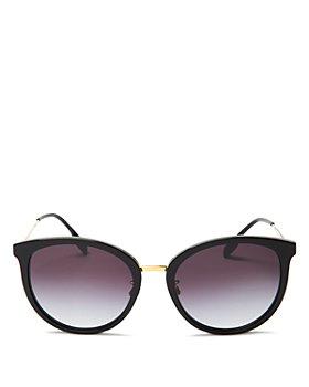 Burberry - Women's Aviator Sunglasses, 56mm