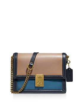 COACH - Hutton Mini Leather Shoulder Bag