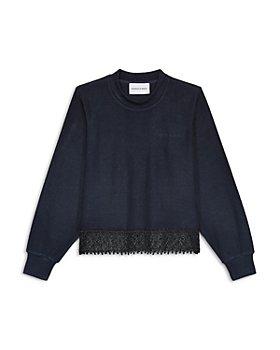 The Kooples - Lace Hem Sweatshirt
