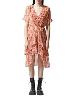 The Kooples - Vintage Flowers High/Low Dress