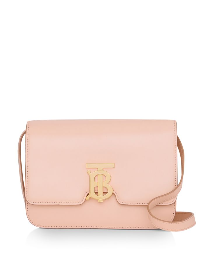 Burberry Small Leather TB Bag  | Bloomingdale's