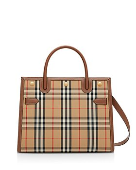 Burberry - Small Vintage Check Two Handle Title Bag
